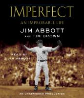 Cover image for Imperfect an improbable life