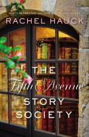 Cover image for The Fifth Avenue story society : a novel