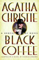 Cover image for Black coffee Hercule Poirot series
