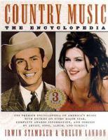Imagen de portada para Country music : the encyclopedia
