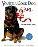 Cover image for You're a good dog, Carl