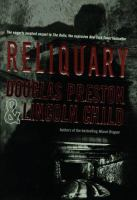 Cover image for Reliquary. bk. 2 : Pendergast series