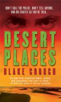 Cover image for Desert places