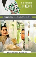 Cover image for Biotechnology 101