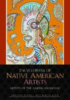 Cover image for Encyclopedia of Native American artists