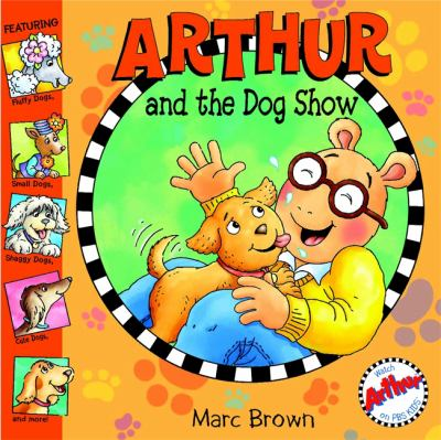 Cover image for Arthur and the dog show