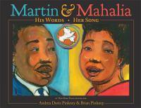 Imagen de portada para Martin & Mahalia : his words, her song