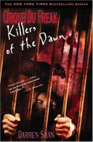 Cover image for Killers of the dawn. bk. 9 : Cirque du Freak series