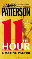 Cover image for 11th hour. bk 11 Women's Murder Club series
