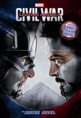 Cover image for Captain America : Civil war : the junior novel