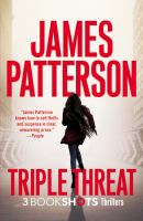 Cover image for Triple threat : thrillers