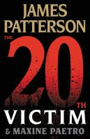 Imagen de portada para The 20th victim. bk. 20 : Women's Murder Club series