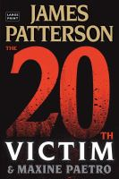 Imagen de portada para The 20th Victim. bk. 20 Women's Murder Club series