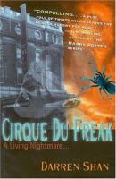Cover image for A living nightmare. bk. 1 : Cirque du Freak series