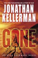 Cover image for Gone. bk. 20 [large print] : an Alex Delaware novel