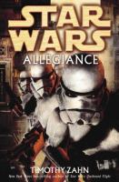Cover image for Star wars. Allegiance