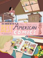Cover image for THE BEST AMERICAN COMICS 2019