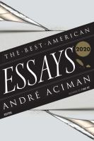 Cover image for The best American essays 2020