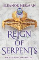 Cover image for Reign of serpents. bk. 3 : Blood of gods and royals series