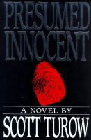 Cover image for Presumed innocent. bk. 1 : Kindle County series