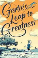 Cover image for Gertie's leap to greatness