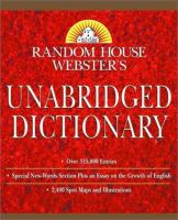 Cover image for Random House Webster's unabridged dictionary.