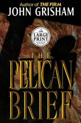 Cover image for The pelican brief [large print]