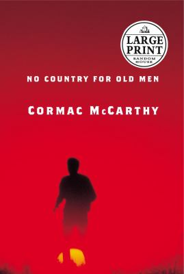 Cover image for No country for old men [large print]