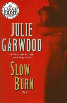 Cover image for Slow burn. bk. 5 [large print] : Buchanan series