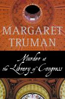 Cover image for Murder at the Library of Congress. Book 16 : Capital crimes series