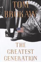 Cover image for The greatest generation