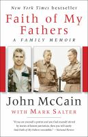 Cover image for Faith of my fathers A Family Memoir.