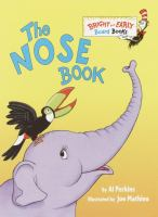Cover image for The nose book