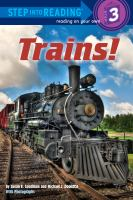 Cover image for Trains!