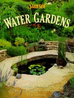 Cover image for Water gardens