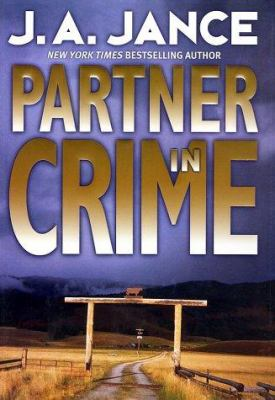 Cover image for Partner in crime. bk. 10 [large print] : Joanna Brady series