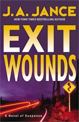 Cover image for Exit wounds. bk. 11 : Joanna Brady series