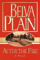 Cover image for After the fire [large print]