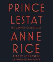 Cover image for Prince Lestat. bk. 11 [sound recording CD] : Vampire chronicles series