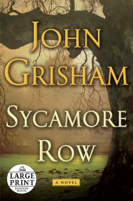 Cover image for Sycamore row. bk. 2 Jake Brigance series
