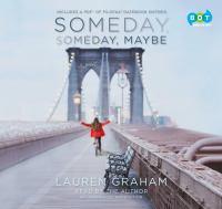 Imagen de portada para Someday, someday, maybe