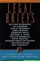 Cover image for Legal briefs : stories by today's best legal thriller writers