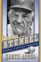 Cover image for Casey Stengel : baseball greatest character
