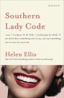 Cover image for Southern Lady Code : essays