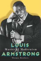 Cover image for Louis Armstrong, master of modernism