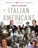 Cover image for The Italian Americans : a history