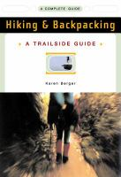 Cover image for Hiking & backpacking : a complete guide