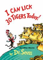 Cover image for I can lick 30 tigers today, and other stories,