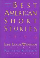 Cover image for The best American short stories, 1996