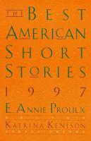 Cover image for The best American short stories, 1997